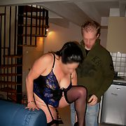 Graham's wife fancies the youngest member of our club gets her mouth on his prick