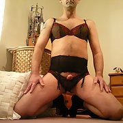 My sissy times in lingerie having lots of fun and play cross dressing