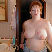 Fat margret showing off and having fun