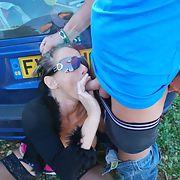 Mature whore Anna enjoying herself