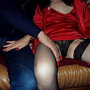 She spreads her legs so his fingers can get to her cunt before he fucked Anna