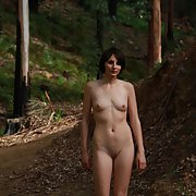 Sexy photo of pixzigirl on a nature walk