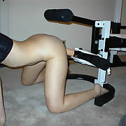 Working out with some new equipment