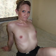 A glamorous granny who loves to show off her sexy body