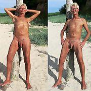 Ich nackt in der Öffentlichkeit im Freien