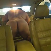 Naked in a car, where do you want to take me