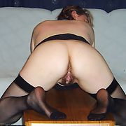 Bent over in random places, just waiting and ready to go