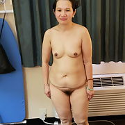 Asian mature hairy old slut on request