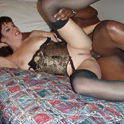 Hot and horny milf enjoy the feeling of bbc while hubby watches