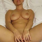Sexy blonde milf having some fun