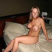 Milf wife on vacation enjoying herself
