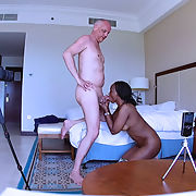 Porn Shooting Interracial - behind the Scenes