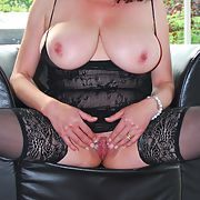 Busty cuckolding french lady shows what she has