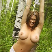 Out for a hike and a fuck while husband works
