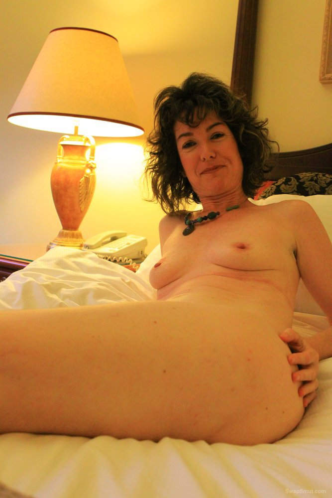 Wife first nude photoshoot showing off her body and pussy
