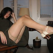 my beautiful photos of a very naughty girl in nylons touching pussy
