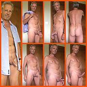 Dressed undressed nude milf