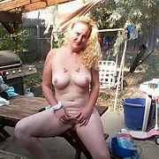 Wife showing off her hot body in various places