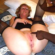 Swinger Wife Black Cock Crazy Slut loves being overwhelmed by BBC set IV