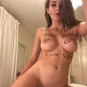 Webslut with cute face and amazing body