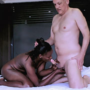Interracial Fucking Action in Africa