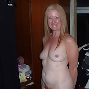 Mature redhead hairy loves her body