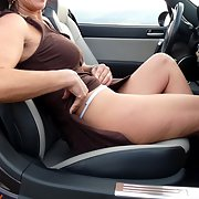 naked in my car