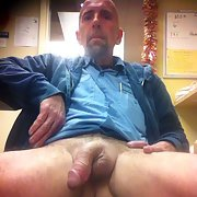 Me and my cock in a few different places some lubed up and ready