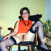 Orange Top & Stockings