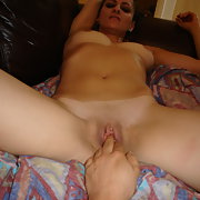 My polish wife naked sucking on my cock loving every minutes of it
