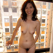 Asian Amateur Window Play Makes for a Sexy Day
