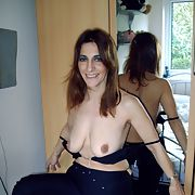 Whore told to strip as she has a new client to please