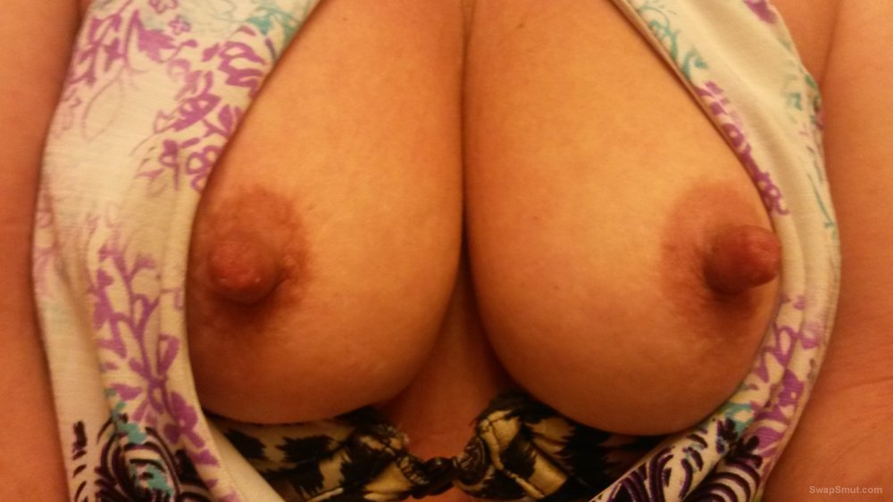 I want you to suck my big nipples, pretty please suck on them