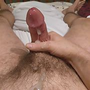 A nice morning masturbation session with climax