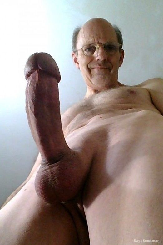 Showing my hard throbbing cock as it comes to life and gets rock hard