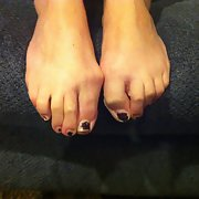 Chipped Toenail Polish Sexy Slut Feet