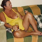 Our very sexy mature fuck buddy GINA came to vist and play
