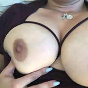 Milf whore titties played with