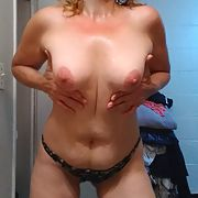 Big tits on Blonde Wife Fuck my wife please