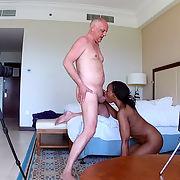 Interracial Porn Casting Action