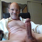 My BIG Daddy cock on display for all to enjoy