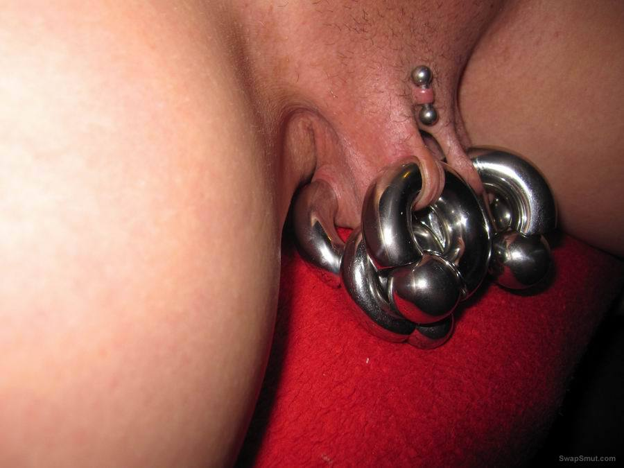 The most perfect pussy in the world vaginal lip hanging piercings