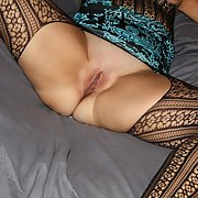 Sandra bunny sexy pictures in lingerie and close up pussy shots