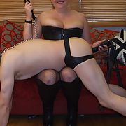 Pics of the wife in dominatrix mode