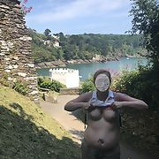 Libbywife flashing at Dartmouth