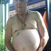 Doug can't stop wanking naked outdoors