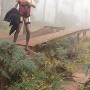 Cross dress walk - Bike park fog