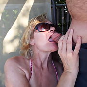 Candy by the pool side part 2 showing her gaping ass