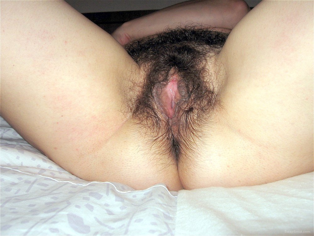 Can help wife shows hairy cunt helpful
