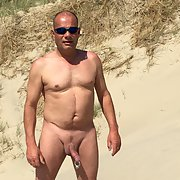 Fat guy nudist beach means not